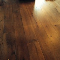 Antique White Oak Wide Plank Flooring - Rustic - Hardwood ...