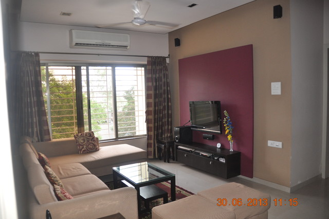 Interior design for small living room in mumbai for Small apartment interior design houzz
