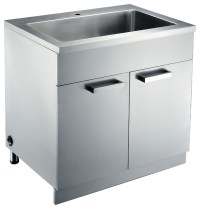 Stainless Steel Sink base Cabinets - Kitchen Cabinetry ...