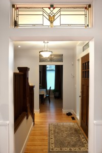 Stained Glass Doorway - Craftsman - Entry - edmonton - by ...