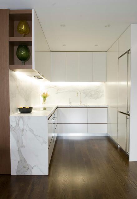 Apartment Interior Fitout  Modern  Kitchen  sydney  by Bayview Design Group Australia