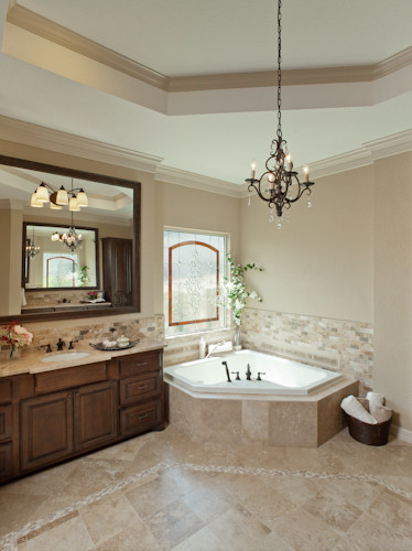 Rustic Elegance  Rustic  Bathroom  houston  by By
