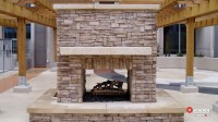 Isokern Fireplaces - Patio - sacramento - by Rustic Fire Place