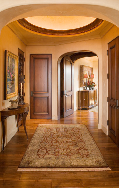Rustic Jewel  Mediterranean  Entry  minneapolis  by