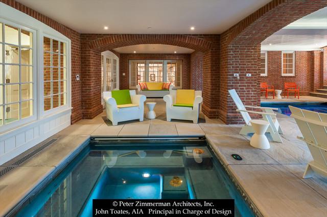 New Indoor Lap Pool  Traditional  Pool  philadelphia