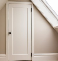 One-Panel MDF Doors traditional