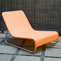 Sunny Modern Outdoor Wicker Lounge Chairs at ...