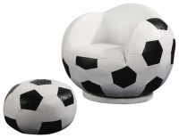 Coaster Kids Sports Chairs Small Kids Soccer Chair and ...