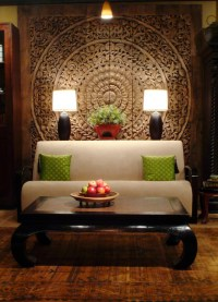 Thai Inspired Modern Design - Asian - Living Room ...
