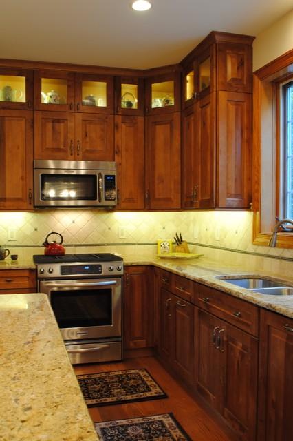 Rustic Birch Kitchen  Rustic  Kitchen  philadelphia