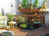Rooftop Patio and Container Garden - Contemporary - Patio ...