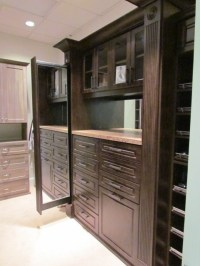 Master Closets with Pull Out Mirror - Traditional - Closet ...