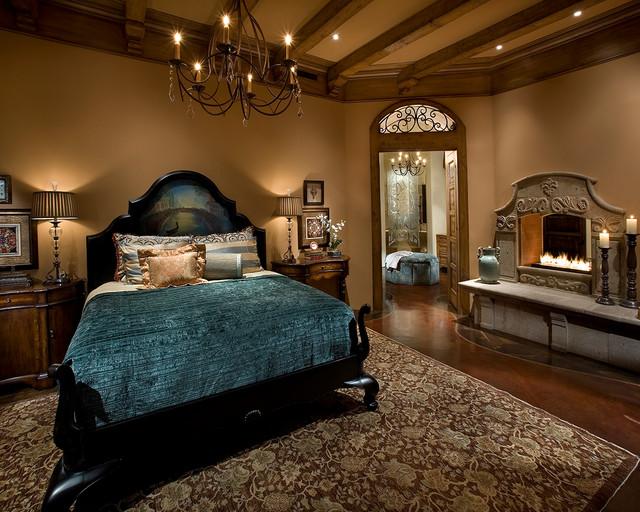 Old World  Chandler  Traditional  Bedroom  phoenix