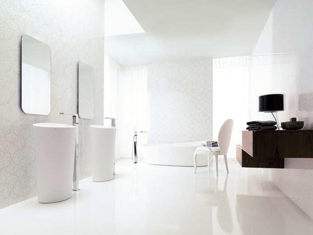 Ultra modern glamourized bathroom  Modern  Bathroom  other metro