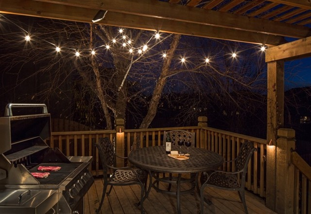 Deck Lighting  Traditional  Porch  omaha  by McKay Landscape Lighting