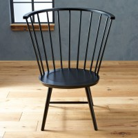 Riviera Windsor Side Chair Black (High) - Contemporary ...