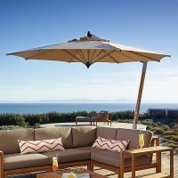 Picollo Tilting Patio Umbrella - Contemporary - Outdoor ...