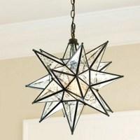 Moravian Star Pendant Mercury Glass - Modern - Pendant ...