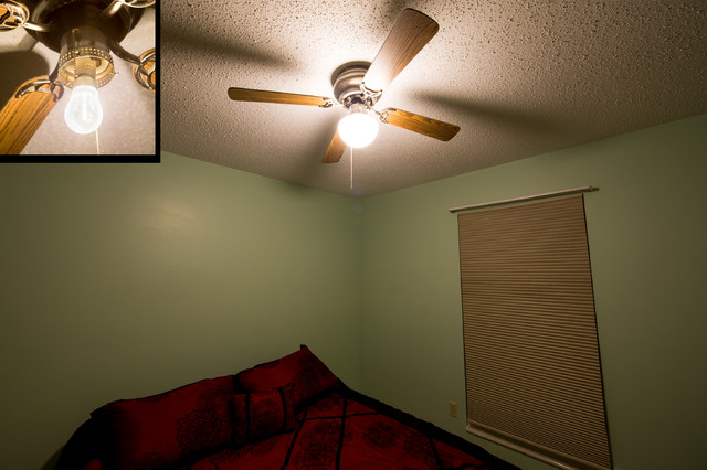 LED Lighting In Ceiling Fan Traditional Bedroom St Louis By Super Bright LEDs
