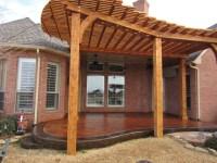 pergola plans on concrete  furnitureplans