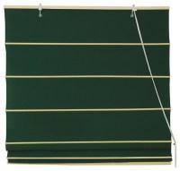 Cotton Roman Shades, Dark Green - Contemporary - Roman ...