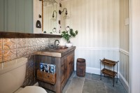 Bathrooms with Tin Ceilings - Rustic - Bathroom - tampa ...