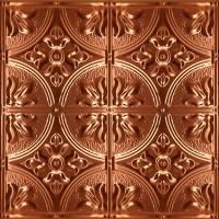 1204 Solid Copper Ceiling Tile - 2ft x 2ft - Ceiling Tile ...