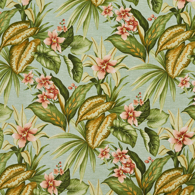 Tropical Home Decor Fabric