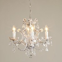 Round Crystal Chandelier - Chandeliers - by Shades of Light