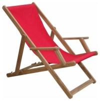 Beach Folding Armchair w/ Canvas (Sold as a pair ...