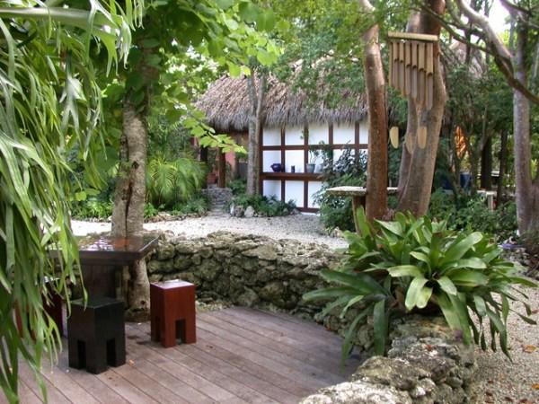 funky florida - tropical landscape