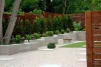 Minimalist Backyard - Modern - Landscape - austin - by ...