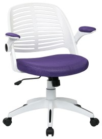 Tyler Office Chair, Purple - Contemporary - Office Chairs ...