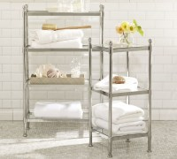 METAL ETAGERE - Traditional - Bathroom Cabinets And ...