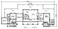 Plan 140-149: Modern Ranch - Modern - Floor Plan - san ...