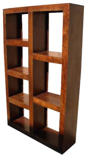 Santa Fe Wood Open Back Bookcase Room Divider