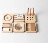 Tofu Stationery Set - Modern - Desk Accessories - other ...