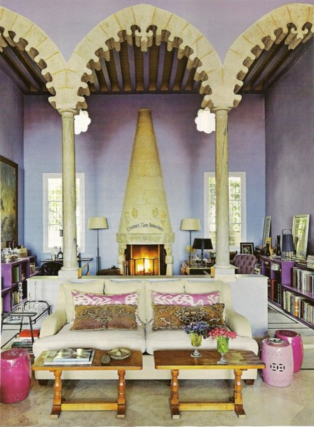 Interior Homescapes In Architectural Digest  Eclectic