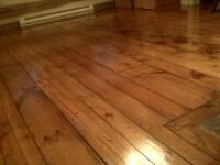 Log Cabin Pine Plank flooring by historicfloor.com