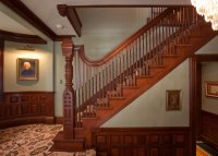 Victorian Splendor - Traditional - Staircase - other metro ...