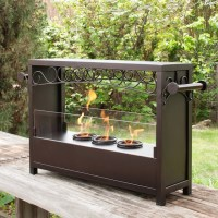 Upton Home Bryden Portable Indoor/ Outdoor Fireplace ...