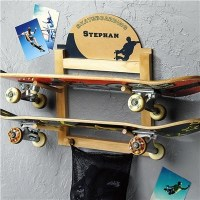 Skateboard Holder - Contemporary - Display And Wall ...