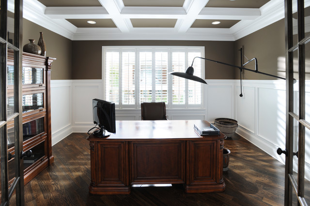 Home Office  Traditional  Home Office  nashville