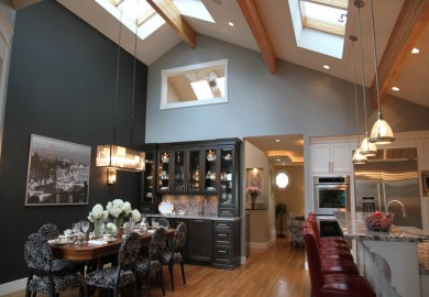 Kitchen Island Lighting With Vaulted Ceiling