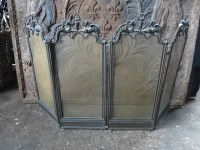 Antique French fireplace screen - Traditional - Fireplace ...