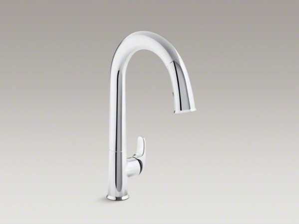 KOHLER SensateTM touchless kitchen faucet with black