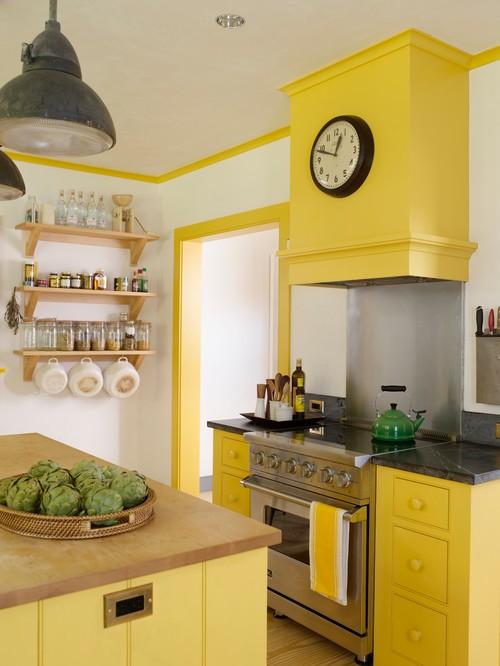 Donna's Blog: Interior Design Color trends: Lemon Yellow | Rafe Churchill: Traditional Houses