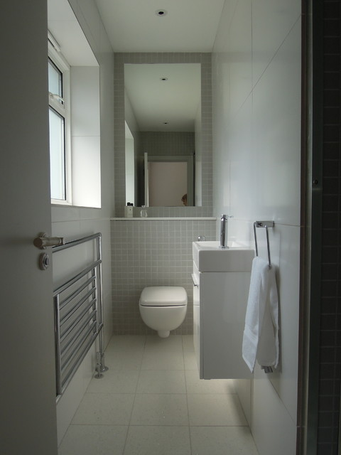 Small bathrooms  Modern  Bathroom  other metro  by Slightly Quirky Ltd