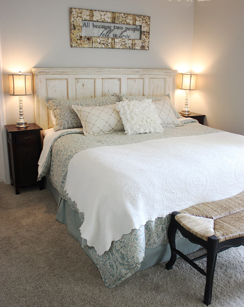 Beach Themed Master Bedroom  Traditional  Bedroom  other metro  by JD Designs