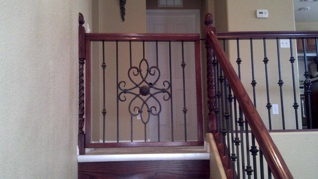 outdoor kitchens las vegas kitchen design tool free baby gates - traditional staircase by jd ...